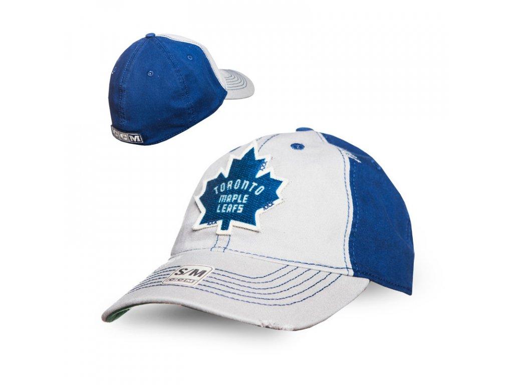 Kšiltovka Toronto Maple Leafs CCM Flex slouch