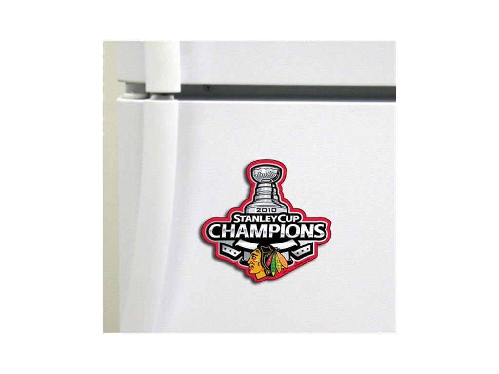 Magnet - Chicago Blackhawks 2010 NHL Stanley Cup Champions