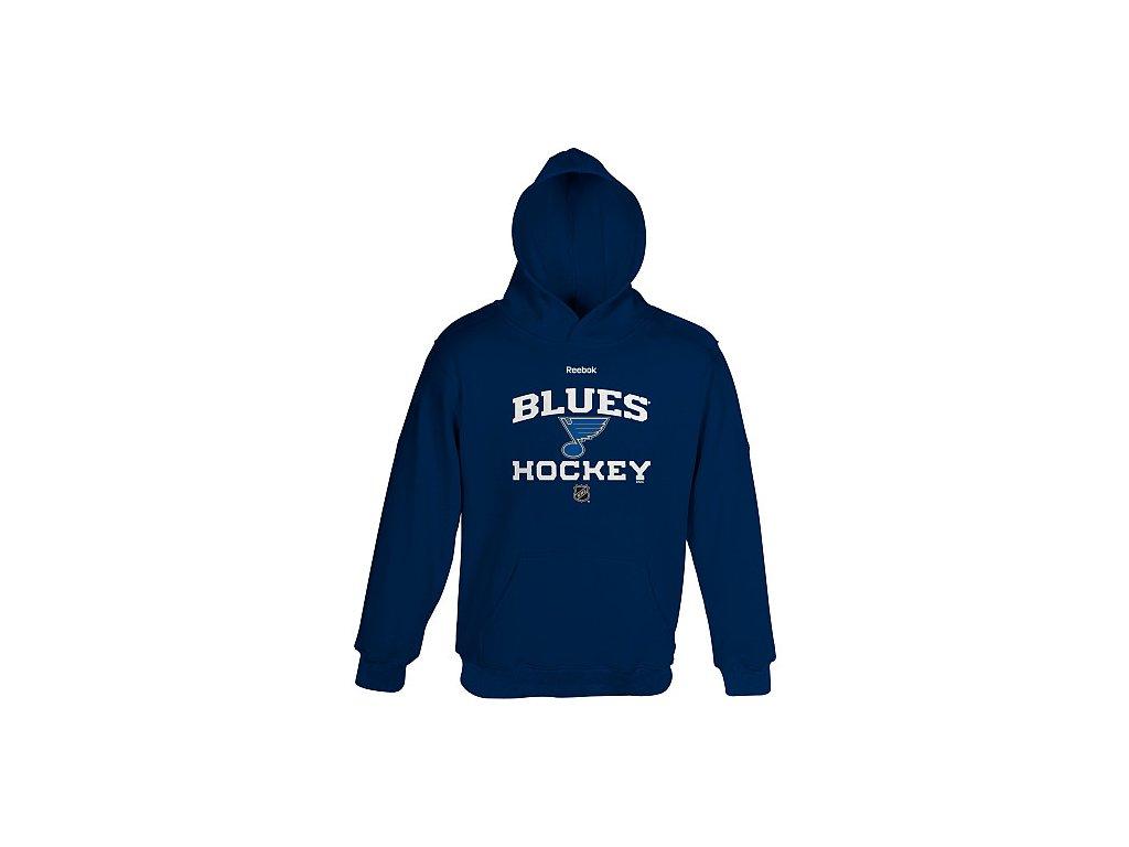 Mikina - Center Ice - St Louis Blues - dětská
