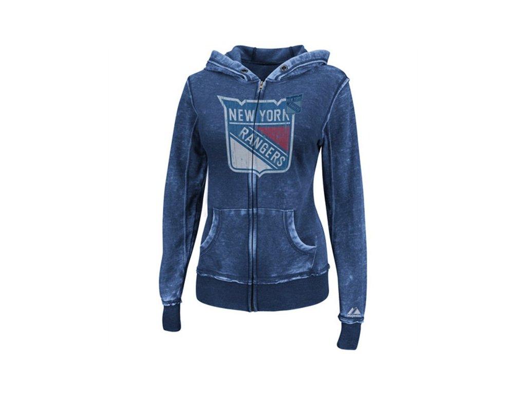 Mikina - Delayed Call - New York Rangers - dámská
