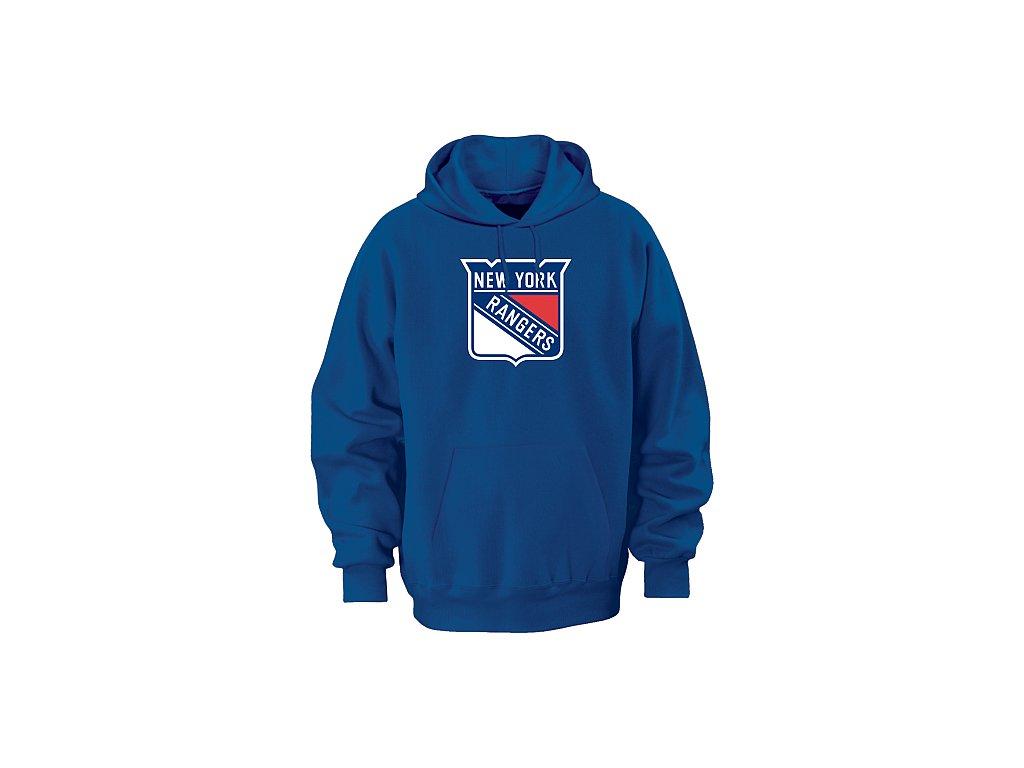 Mikina - Team Logo II. - New York Rangers - modrá