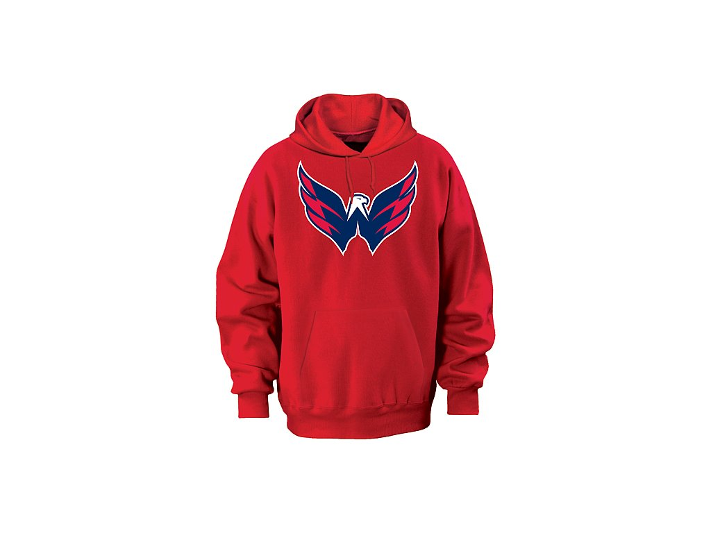 Mikina - Team Logo II. - Washington Capitals - červená