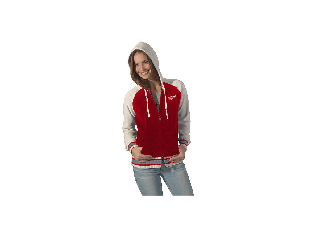Mikina - Velour Cheer - Detroit Red Wings