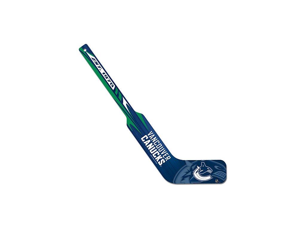 Mini hokejka - Goalie - Vancouver Canucks