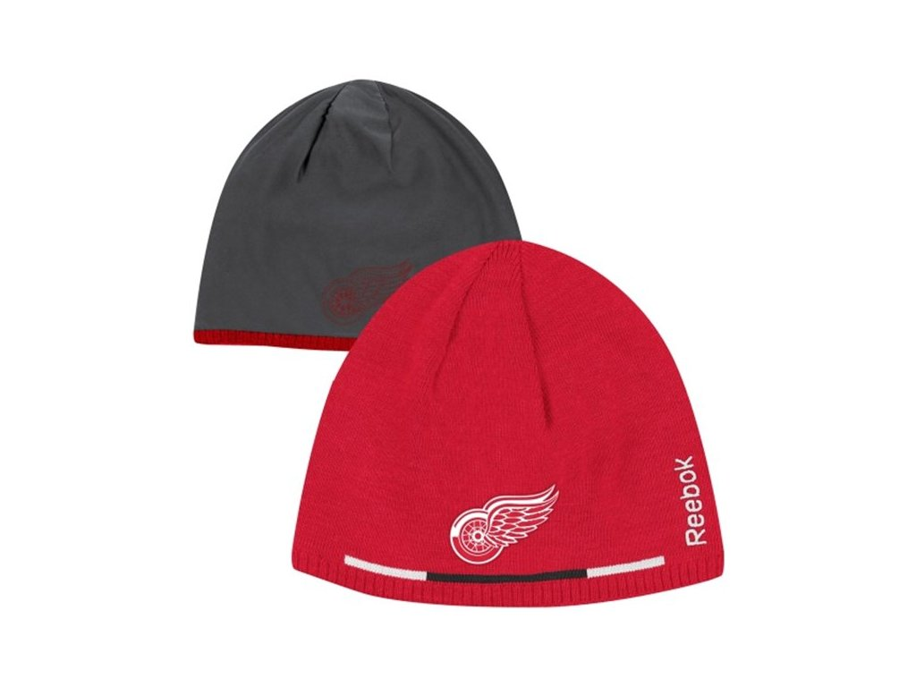 NHL čepice Detroit Red Wings Player Reversible 13/14