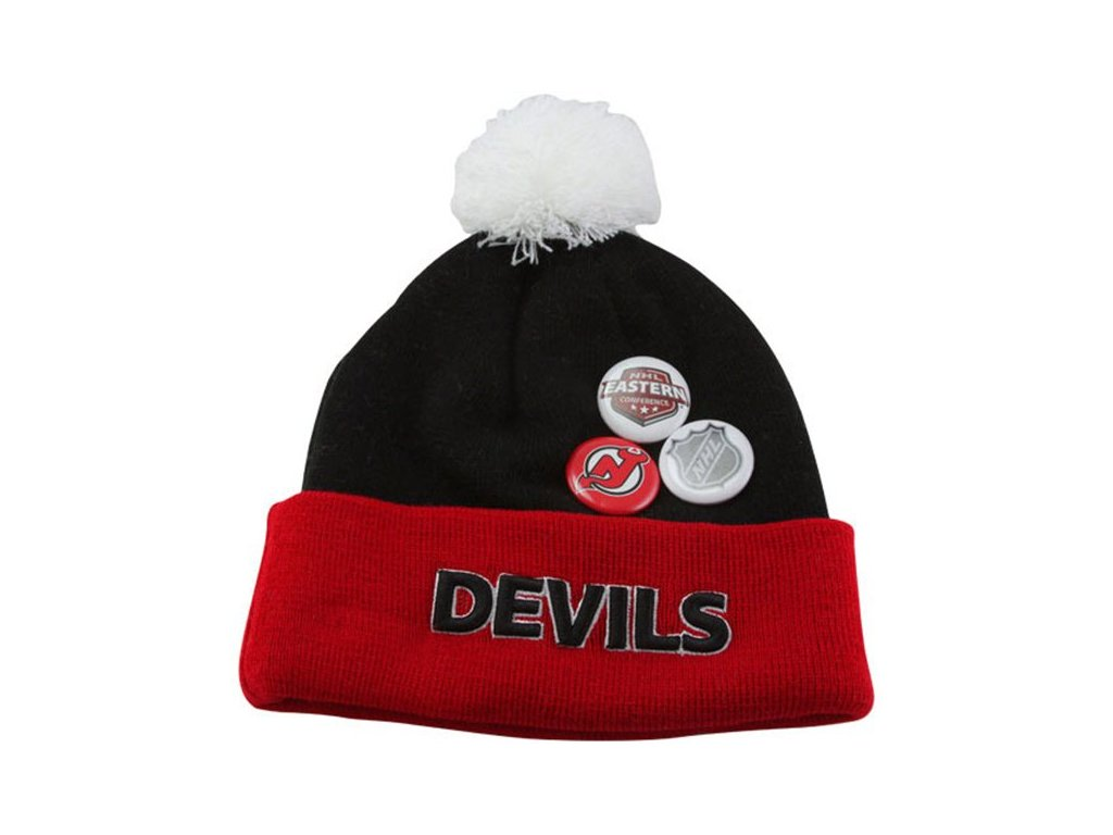 NHL čepice New Jersey Devils Button Up