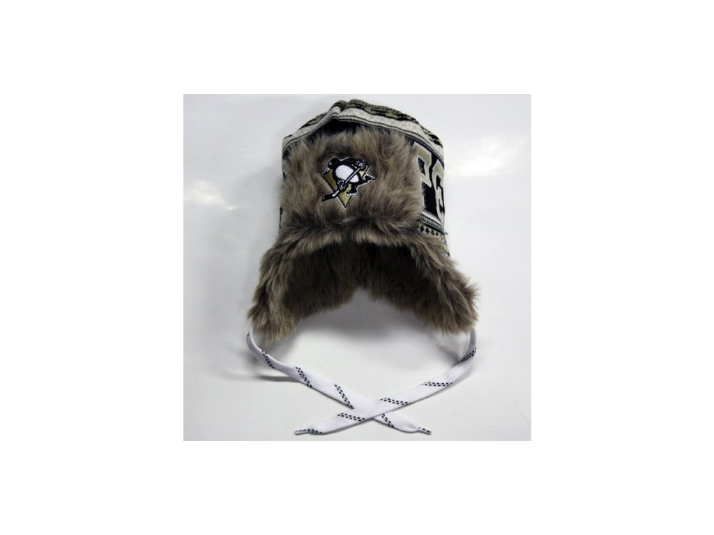 NHL čepice Pittsburgh Penguins Fur Lined Trooper