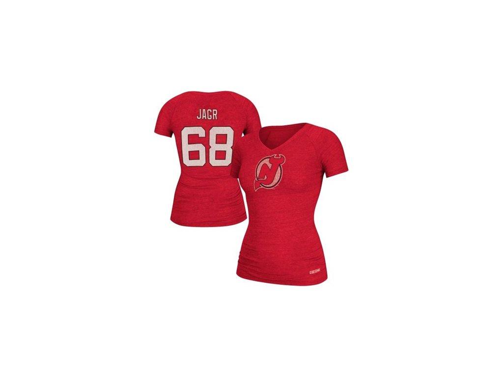 NHL dámské tričko Jaromír Jágr #68 New Jersey Devils CCM