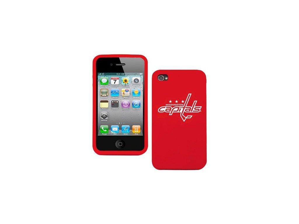NHL kryt Iphone 4/4S Washington Capitals Silicone