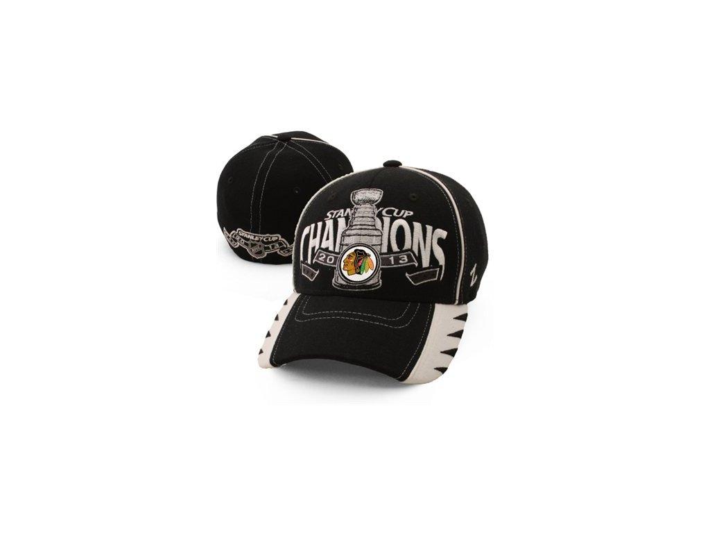 NHL Kšiltovka Chicago Blackhawks 2013 NHL Stanley Cup Champions - Zephyr