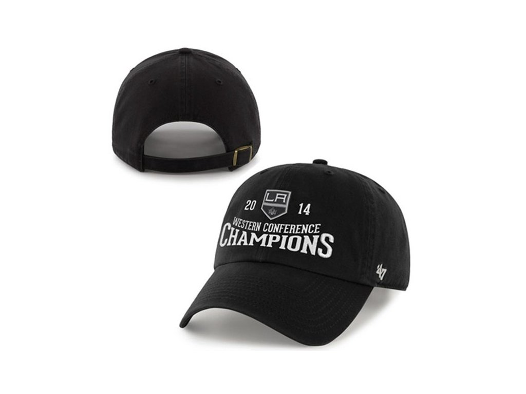 NHL kšiltovka Los Angeles Kings 2014 Western Conference Champions Clean Up