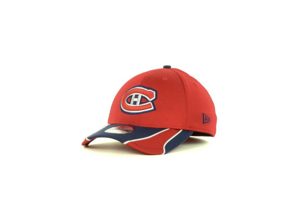 NHL Kšiltovka Montreal Canadiens Training 39THIRTY - červená