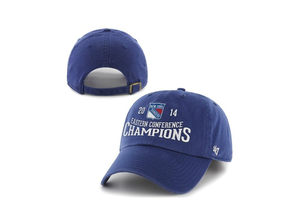 NHL kšiltovka New York Rangers 2014 Eastern Conference Champions Clean Up