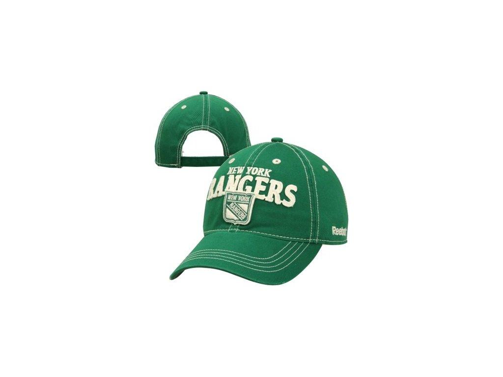 NHL kšiltovka New York Rangers St. Patricks Slouch Adjustable