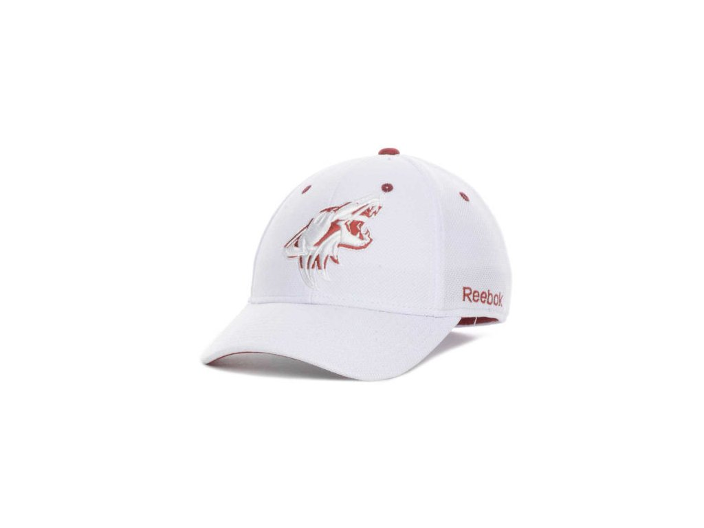 NHL Kšiltovka Arizona Coyotes (Phoenix Coyotes) White Out Flex