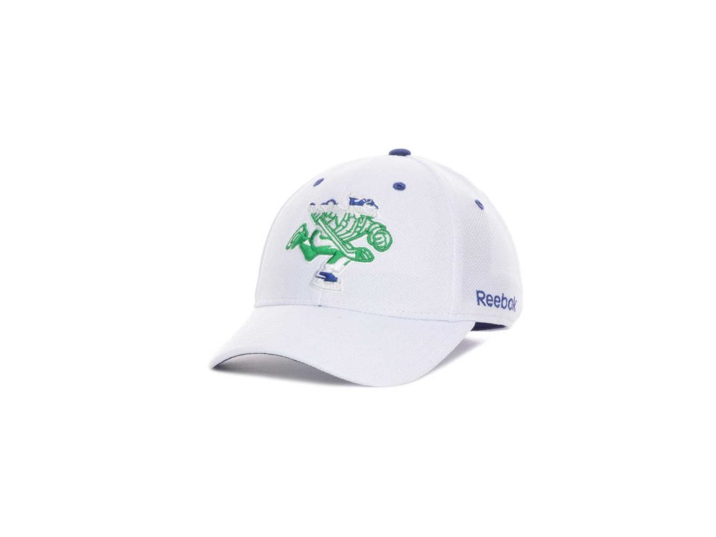NHL Kšiltovka Vancouver Canucks White Out Flex