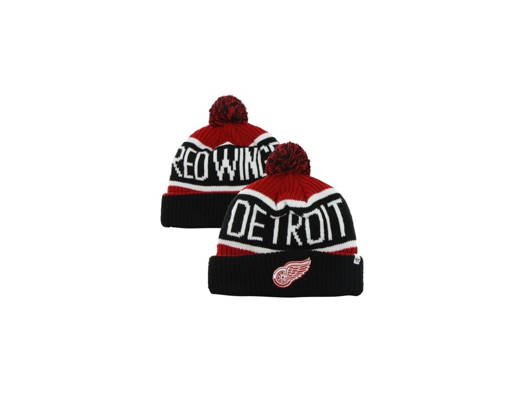 NHL kulich Detroit Red Wings s bambulí