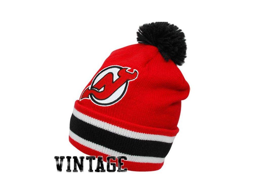 NHL kulich New Jersey Devils Vintage Jersey Stripe