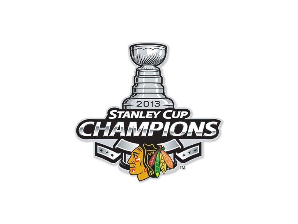 NHL nášivka Chicago Blackhawks Stanley cup 2013