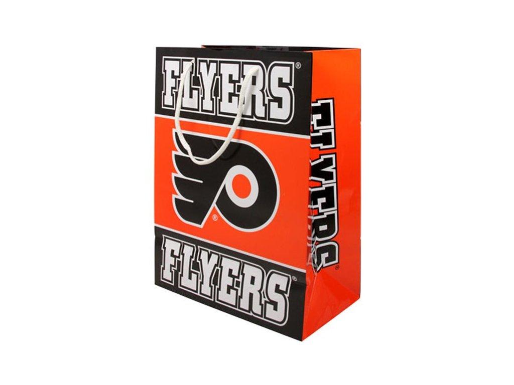 NHL papírová nákupní taška Philadelphia Flyers