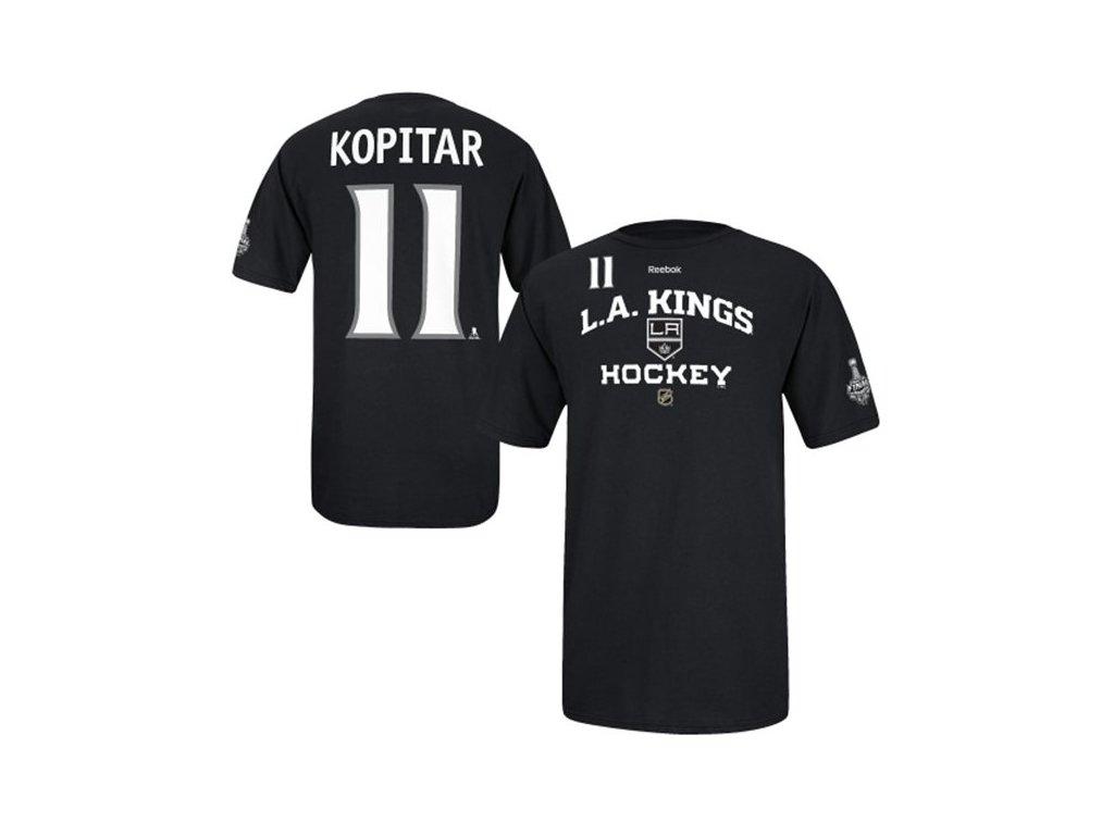 NHL tričko Anze Kopitar #11 Los Angeles Kings Stanley Cup 2014 Final