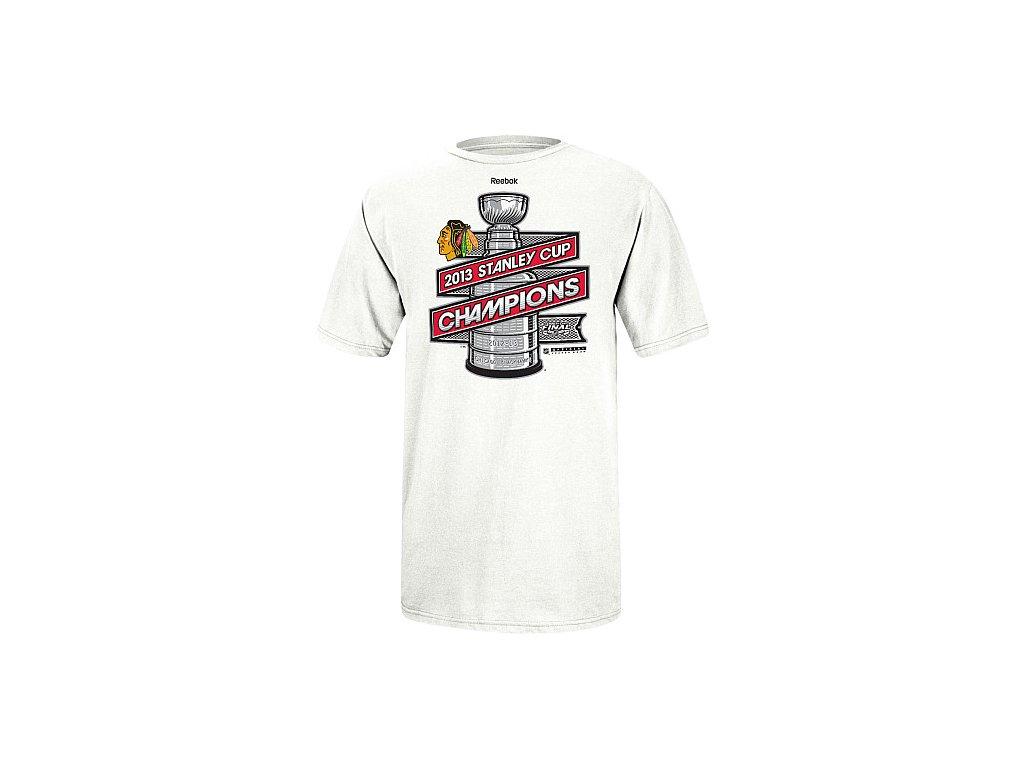 NHL Tričko Chicago Blackhawks 2013 Stanley Cup Champions Locker Room