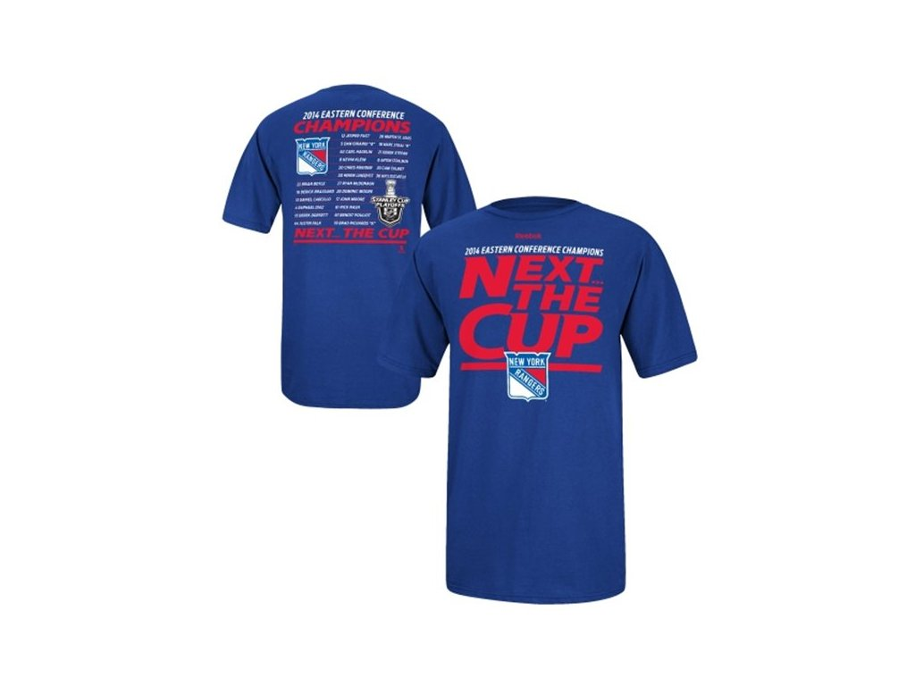 NHL tričko New York Rangers 2014 Eastern Conference Champions Next the Cup Roster