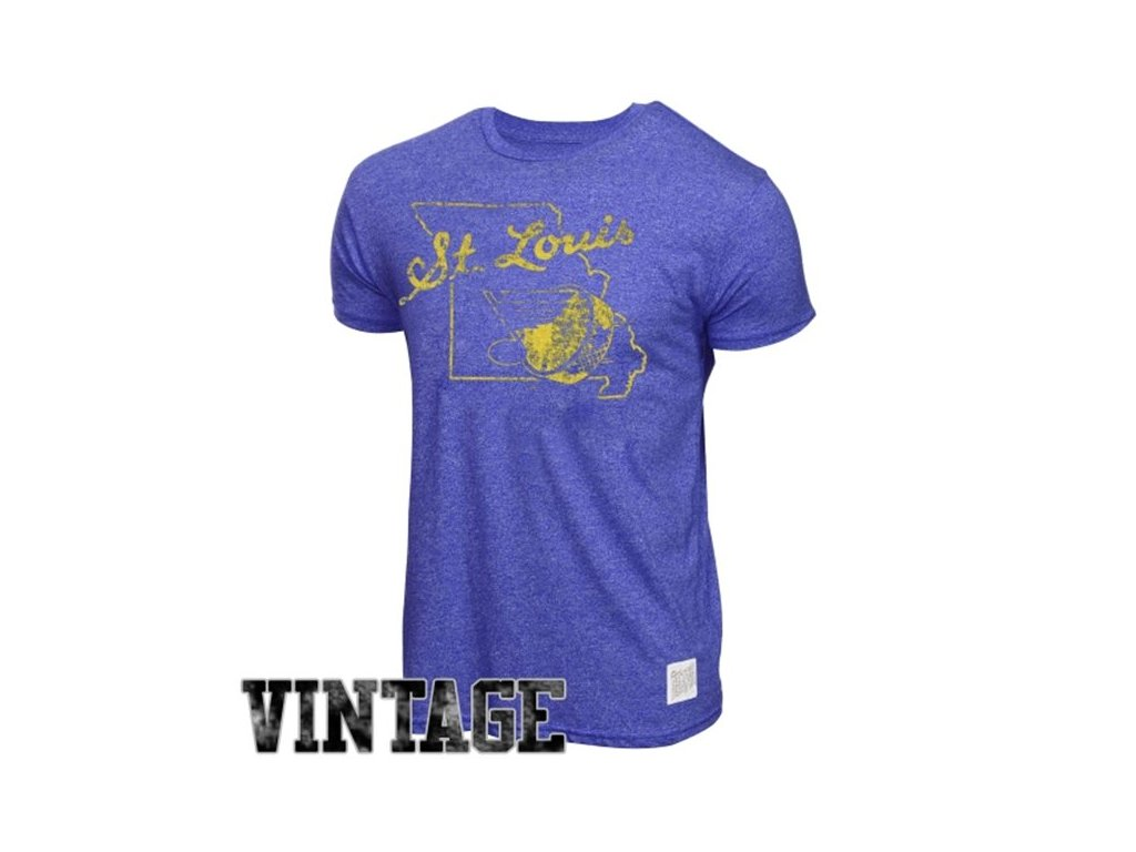 NHL tričko St. Louis Blues Mock Twist