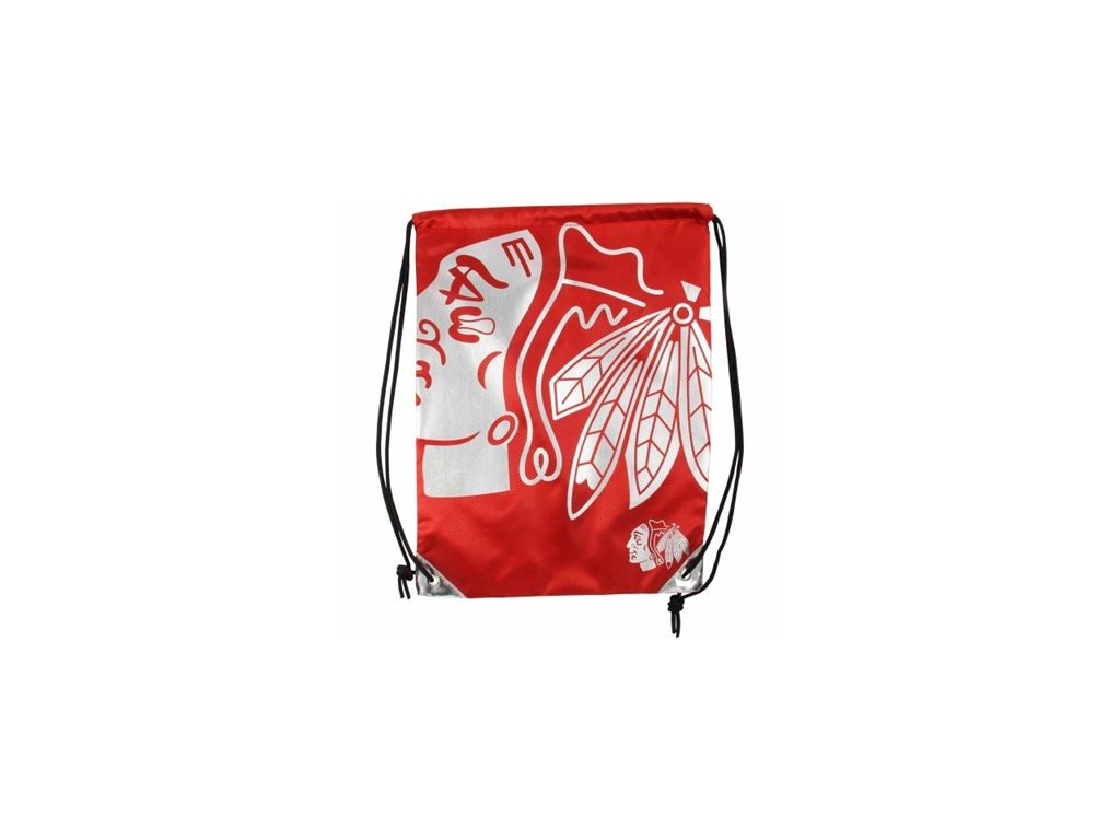 NHL vak Chicago Blackhawks Metallic Drawstring