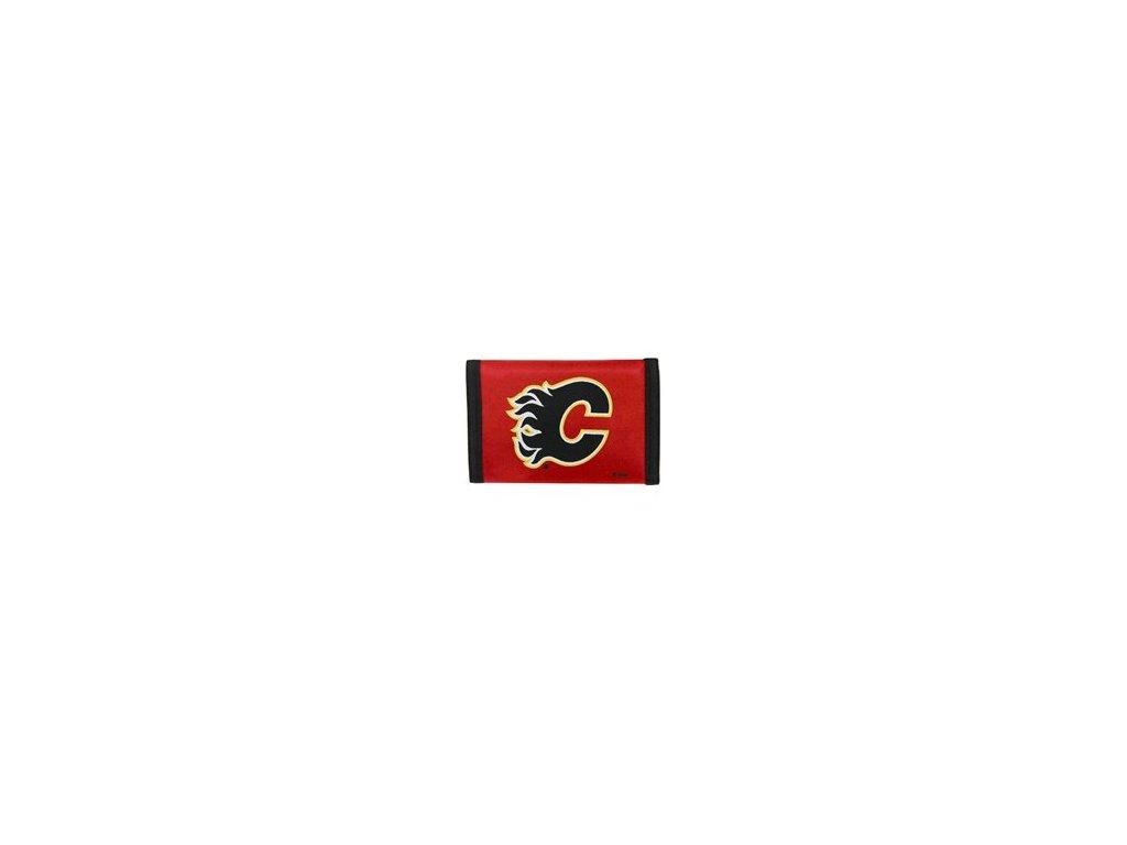 Peněženka - Nylon Trifold - Calgary Flames