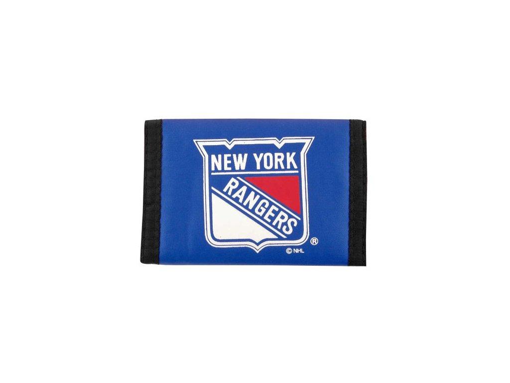 Peněženka - Nylon Trifold - New York Rangers