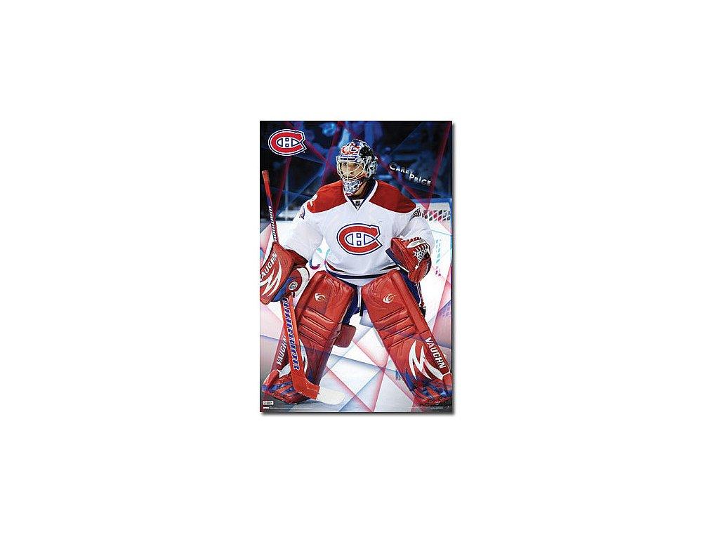 Plakát - Montreal Canadiens Carey Price