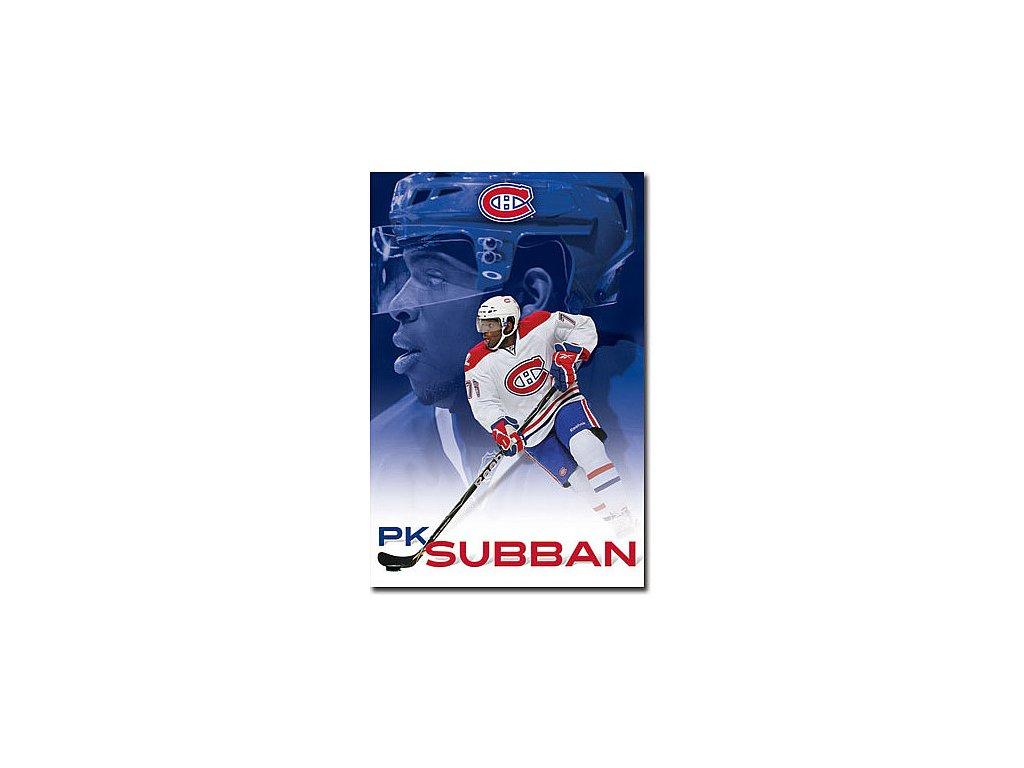 Plakát - Montreal Canadiens P.K Subban