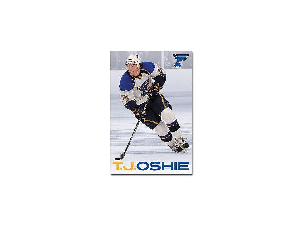 Plakát - St. Louis Blues T.J Oshie