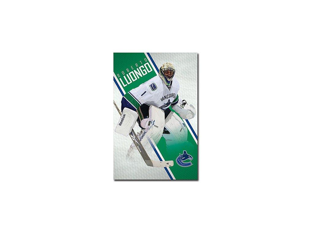 Plakát - Vancouver Canucks Roberto Luongo