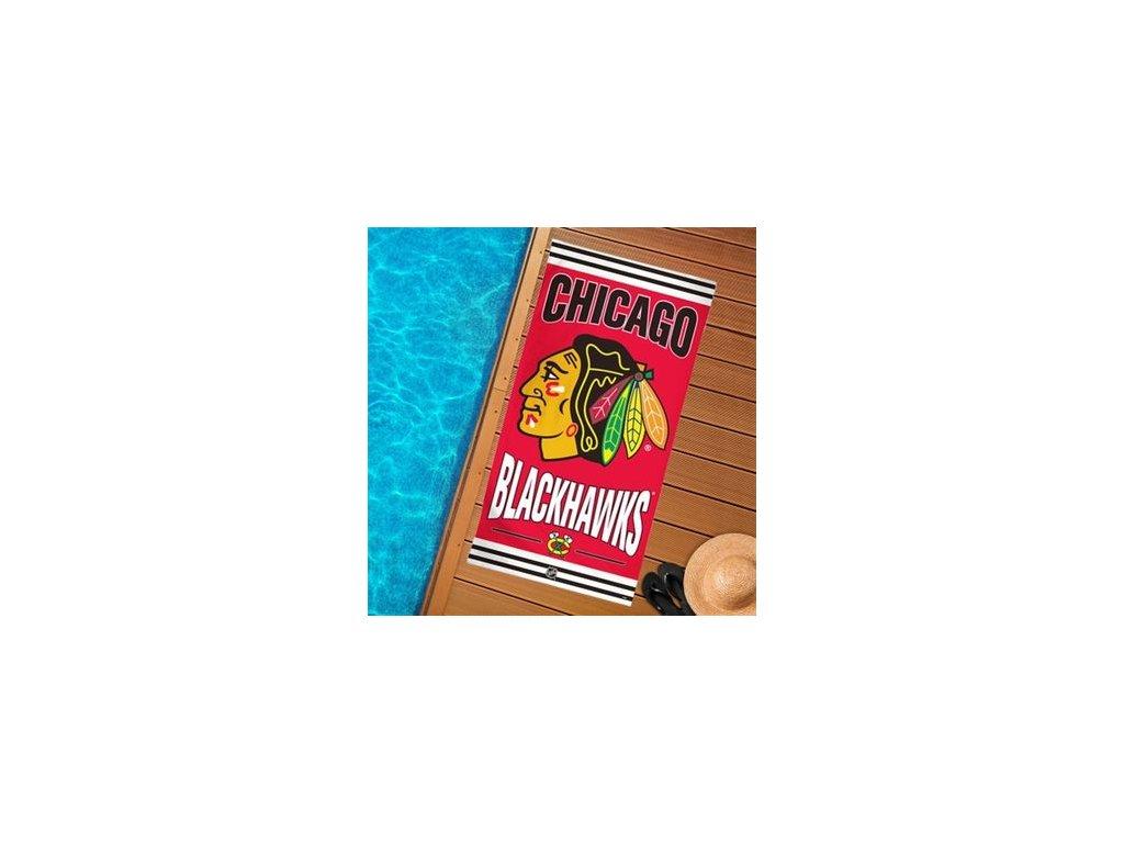 Plážová osuška Chicago Blackhawks
