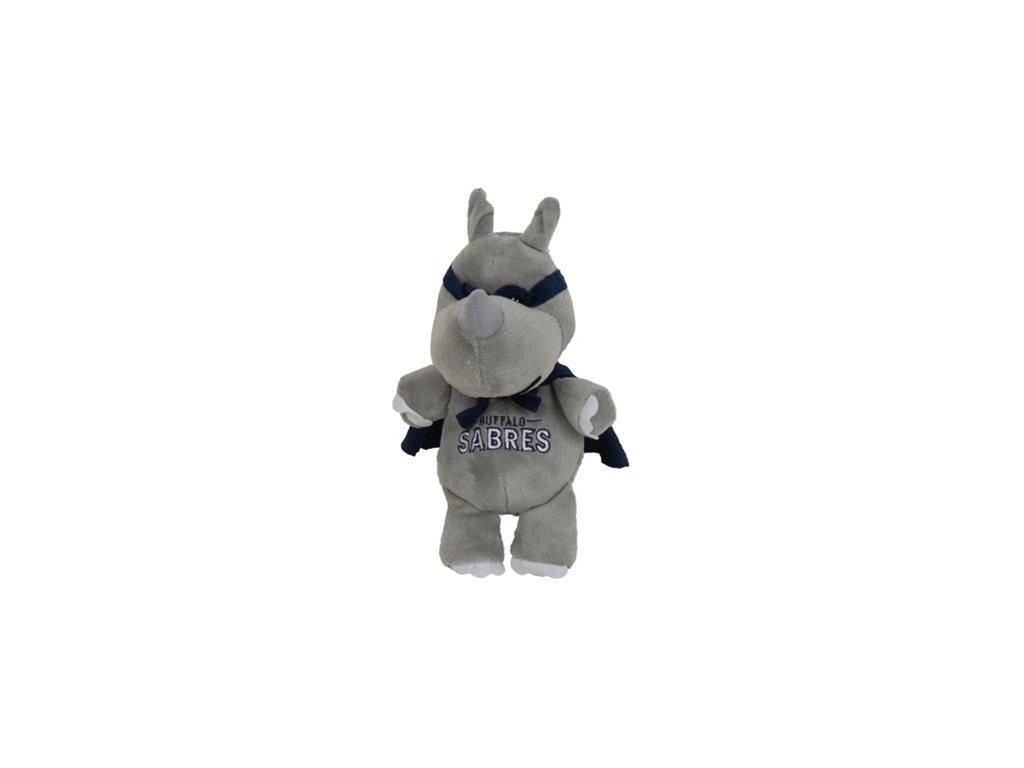 Plyšový superhrdina Buffalo Sabres - Nosorožec