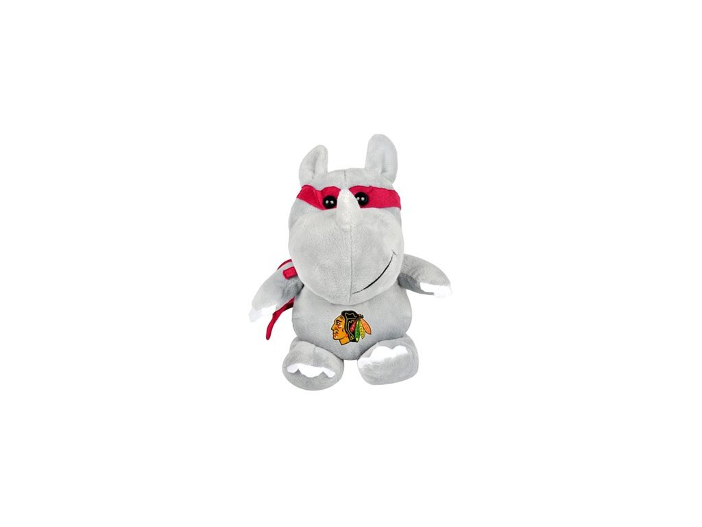 Plyšový superhrdina Chicago Blackhawks - Nosorožec
