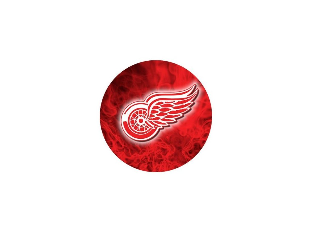 Podložka pod myš - fire logo - Detroit Red Wings