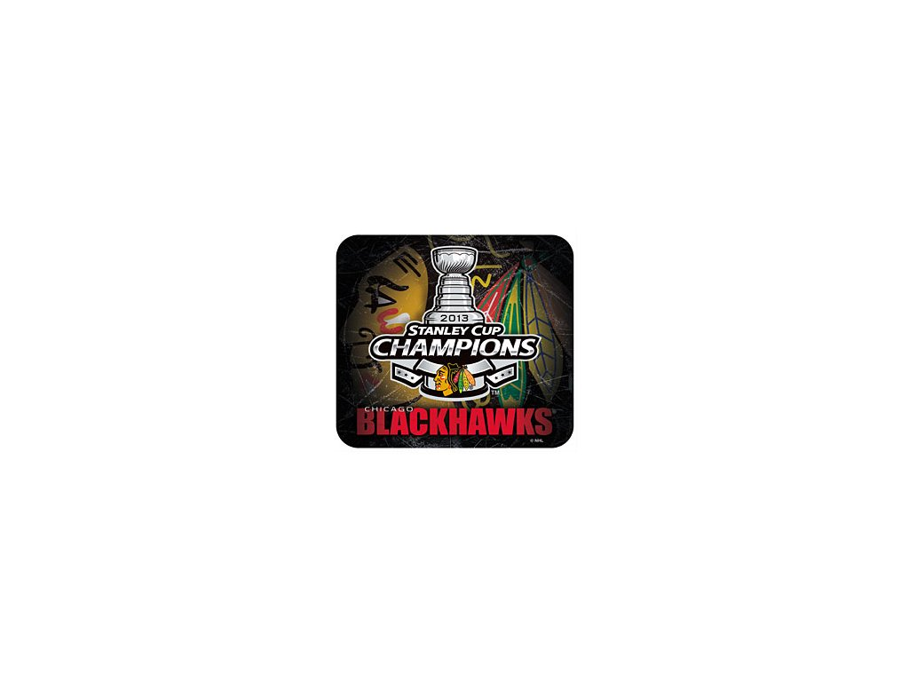 Podložka pod myš - stanley cup 2013 - Chicago Blackhawks