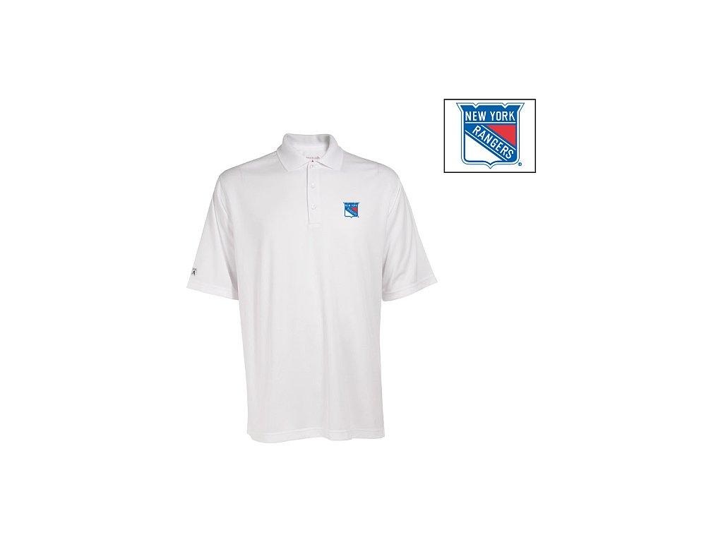 Polo - Exceed - New York Rangers - bílé