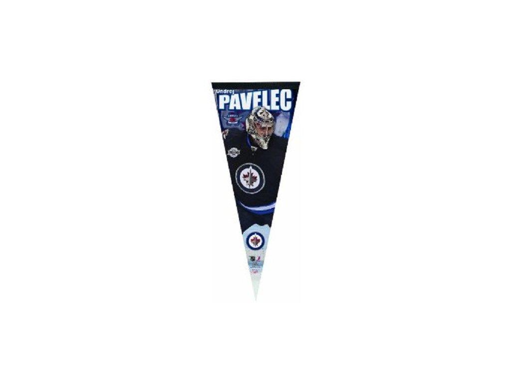 Praporek Wincraft - Winnipeg Jets - Ondřej Pavelec