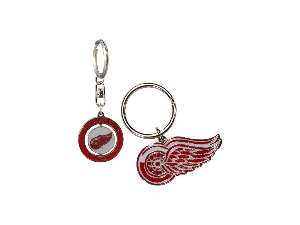 Přívěšek - Detroit Red Wings - 2 kusy