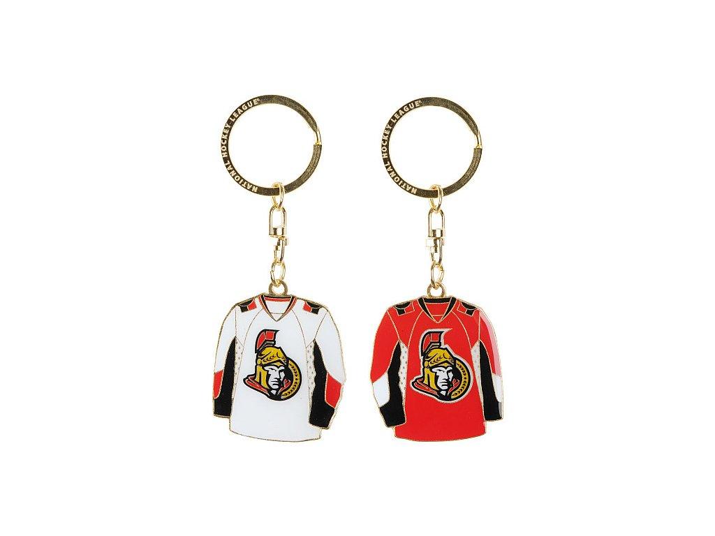 Přívěšek - Jersey - Ottawa Senators  - 2 kusy