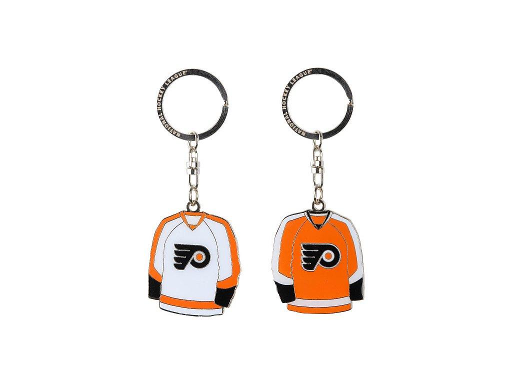 Přívěšek - Jersey - Philadelphia Flyers - 2 kusy