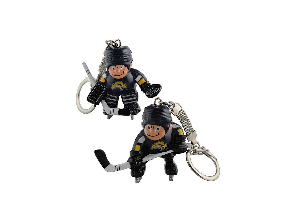 Přívěšek - Mini Players - Buffalo Sabres - 2 kusy