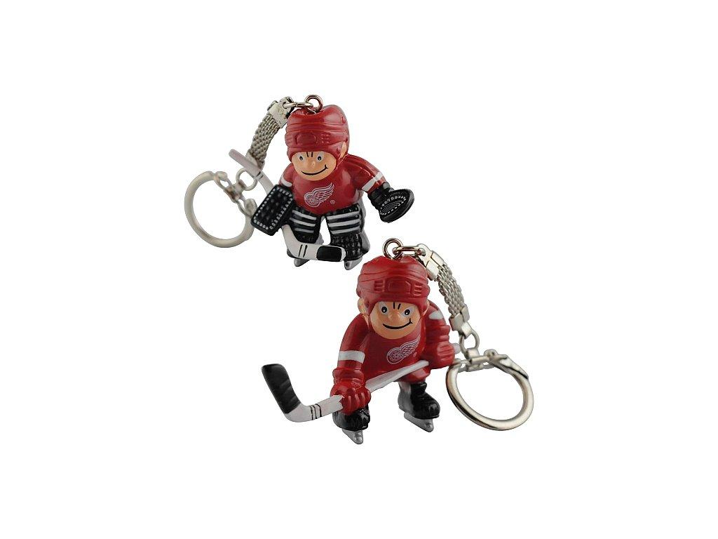 Přívěšek - Mini Players - Detroit Red Wings - 2 kusy