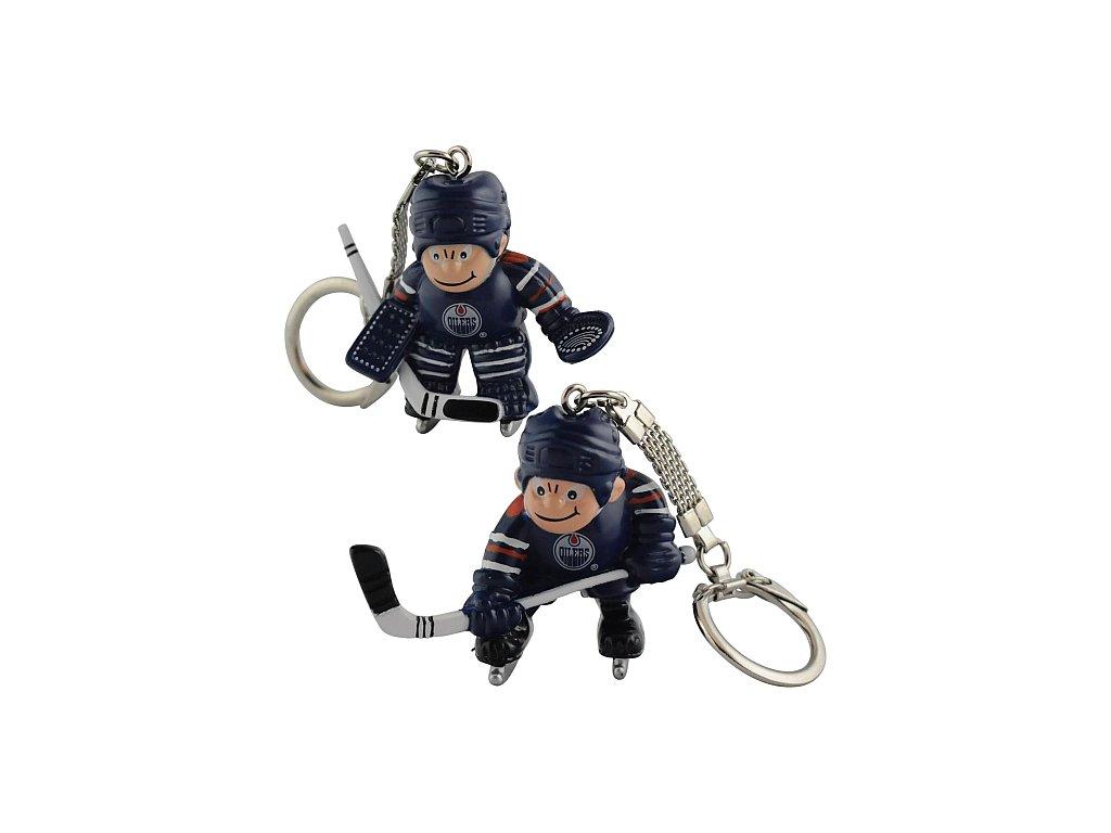 Přívěšek - Mini Players - Edmonton Oilers - 2 kusy