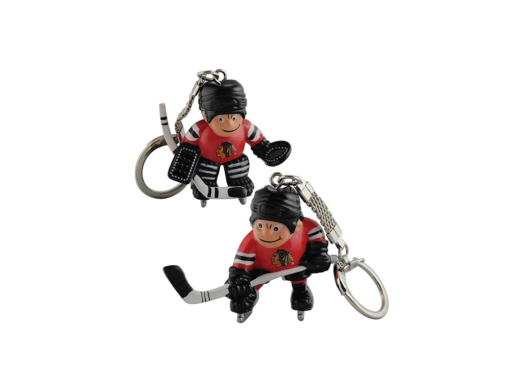 Přívěšek - Mini Players - Chicago Blackhawks - 2 kusy