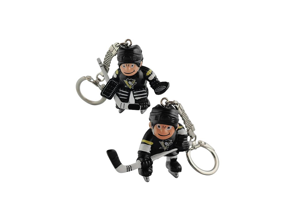 Přívěšek - Mini Players - Pittsburgh Penguins - 2 kusy